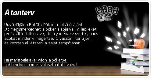 Pókersuli - Kezdők db46ed1002